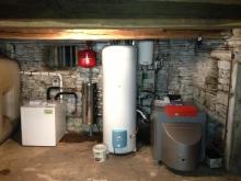 Pompe à chaleur air/eau haute température – Rioz (2013)