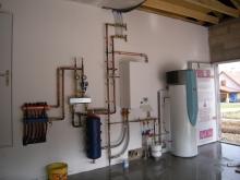 Pompe à chaleur air/eau – POULIGNEY (2012)