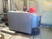 Chaudière gaz condensation – ONF – Besançon (2014)