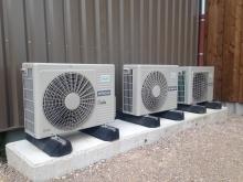 PAC air/eau + climatisation – Centre équestre – Besançon (2016)
