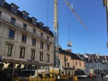Remplacement d'un groupe d'eau glacée – Besançon (2019)